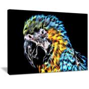 Digital Art PT2412-40-30 Polly Want A Cracker Parrot Art Large Animal Wall Art