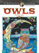 Creative Haven Owls Colouring Book