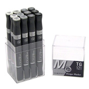 Mepxy Design Marker Toner Grey Set of 12