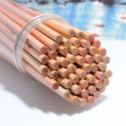 50pcs/set burlywood Pencils/ Drawing Pencils for Sketch/Secret Garden Colouring Book(Not Included) HB