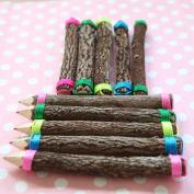 10pcs/set Colour mixing Branch shape Pencils/ Drawing Pencils for Sketch/Secret Garden Colouring Book