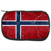 Distressed Norwegian Flag Travel Bag