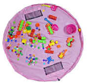 Special Life Toy Organiser Storage Bag, Large Children's Play Mat 150cm Diameter, Quick Cleanup, Great for Storing Small and Medium Size Toy