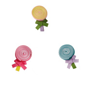 DUOQU 3 Colours 3 Pcs Baby Girl Grosgrain Ribbon Boutique Hair Bows Alligator Clips Fashion Hair Accessories For Teens Baby Girls Babies Toddlers
