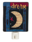Painted Peace Dream Artwork Shade Night Light - By Ganz