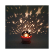 New New Rotation Night Projector Light Lamp Star Sky Romantic Fairy Random Colour by TrustyTrade