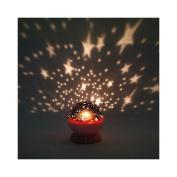 New New Rotation Night Projector Light Lamp Star Sky Romantic Fairy Random Colour by TrustyTrade