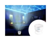 New Romantic Ocean Waves Projector Light Daren Waves Night Light Speaker Lamp 12 LED by TrustyTrade