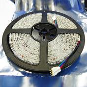HARULU DC 12V 5M SMD 300 LEDS 3528 RGB Non- Waterproof LED Strip Light Lamp New