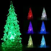 Rosbane(TM) Holiday Festival Best Gift RGB Colourful LED Christmas Tree NightLight Christmas Decoration Night Light