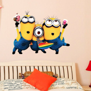 Despicable Me 2 Minion Movie Decal Removable Wall Sticker
