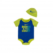 Nike Baby Bodysuit, Cap 2 PCS, Size 6 - 9 Months