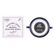 Wild and Wolf Gentlemen's Hardware Apothecary Shaving Soap and Enamel Bowl