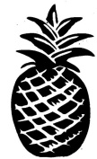 Pineapple - Hawaii Rubber Stamps custom stamps rubber Rubber Stamps custom stamps rubber