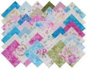 Eleanor Burns CHRISTINE Precut 13cm Charm Pack Cotton Fabric Quilting Squares Assortment Benartex