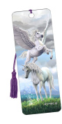 Pegasus & Unicorn Bookmark with Tassel - 3d - Bookmark - Cheatwell