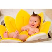 Comfortable Bath Tub in Yellow Measures 80cm in diameter