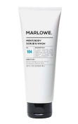 Marlowe Men's Exfoliating Body Scrub & Wash - 240ml