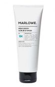 Marlowe Men's Exfoliating Body Scrub & Wash - 240ml