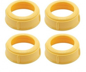 Medela Bottle Nipple Collars Rings New! For Slow or Medium Flow Wide Base
