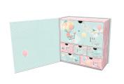 Lady Jayne Balloon Adventure Baby's First Memory Keepsake Box
