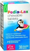 Fleet Pedia-Lax Chewable Tablets Watermelon Flavour 30 Tablets