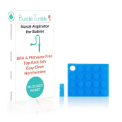 Bundle Tumble BreatheBaby Doctor Recommended Nasal Aspirator + 24 Extra Hygiene Filters