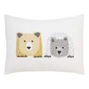 DwellStudio Cross Stitch Pillow