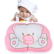 Infant Baby Bear Cotton Pillow Prevent Flat Head Cushion Pad.