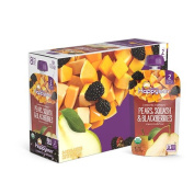 Happy Baby Clearly Crafted, Organic Baby Food, Stage 2, Pears, Squash & Blackberries, 120ml Clear Pouch