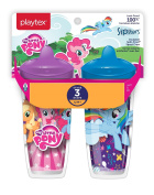 Playtex Sipsters Stage 3 My Little Pony Infant Cups - 2 Pack - Assorted