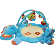 Charming Animal Kingdom Musical Activity Kick and Play Piano Gym , elephants