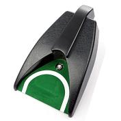 LeRysox(TM) UK Golf Ball Kick Back Automatic Return Putting Cup Device Practise Training Aid