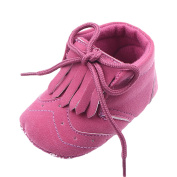 YOUJIA Cute First Walkers Shoes Unisex Newborn Soft Crib Shoes Lace-Up Baby Shoe