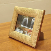 ZQQ 18cm photo frame set up Golden champagne colour box