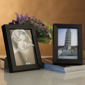 QYP Solid black 7 inch thick 3cm 2cm picture frame