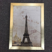 QYP Simple popular champagne picture frame place may hang