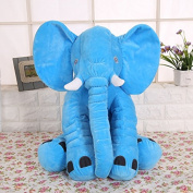 Kenmont Elephant Pillow Throw Cushion Sleeping elephant Stuffed Plush Pillows Plush Soft Toys for Kids Baby Toddler Infant gifts
