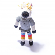 ChunkiChilli Organic Cotton Horse Soft Toy in Stripy Trousers