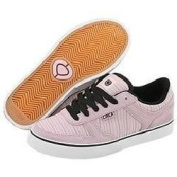 Circa skateboard shoes girls 4 Track W - Pink / Black