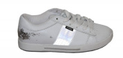 Osiris Skate Shoes Volley Girls White /Silver Sneakers Shoes