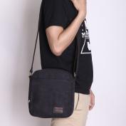 Eshow Men's Retro Mini Multipurpose Canvas Cross Body Everyday Shoulder Satchel Bag