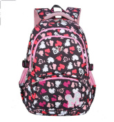 COCOSO Girls Casual Fashion Painted Water Repellent School Backpack Rucksack Daypack Tablet Bags--