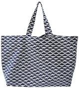 'St. Tropez Beach Bag Shopper/Beach Bag XXL Shopping Bag Classic Beach Boat Width 72 cm, height 44 cm with Pocket Bag