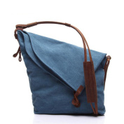 ETASSO Women Canvas Messenger Bag Shoulder Bag