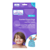 Baby Works Disposable Scented Nappy Bags