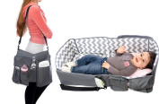 Cystyle 3-in-1 backpack Mummy / Nappy Bag cum Portable Mini Baby Travel bed