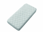 Interbaby Quilted Crib Protector Blanco
