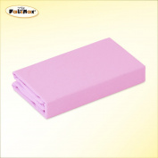 FabiMax 2676 Cot Jersey Fitted Sheet 70 x 140 cm Pink