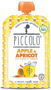 Piccolo Stage 1 Apple and Apricot Puree with a Pinch of Cinnamon 100 g
